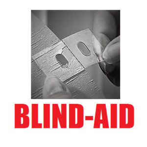Blind-Aid Adhesive Strips 4 pack