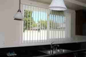 EZ Glide Vertical Blinds - with Contract Curved PVC Vanes